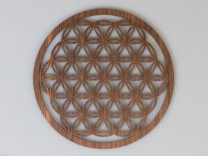 Blume des Lebens aus Holz ø 25 cm