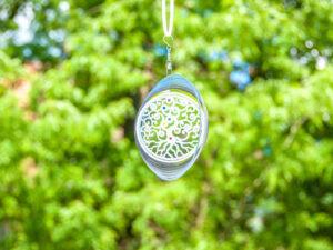 Yggdrasil – Weltenbaum Mobile Ø 15 cm aus Edelstahl