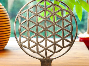Ambiente-Element Blume des Lebens H: 24 cm, ø 20 cm