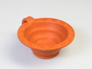 Makal rot – Räuchergefäss aus Tonca. Ø 13 cm
