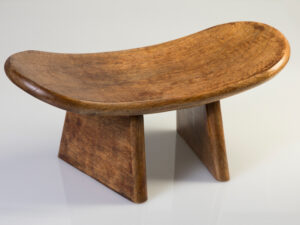 Meditationshocker aus Holz L: 40 cm, B: 18 cm