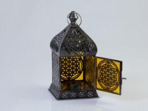 Orientalisches Licht Blume des Lebens Zink Antique