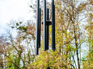 Klangspiel Aluminium, H: 110 cm