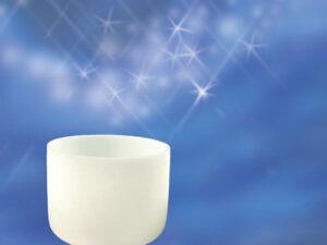 Kristallklangschale 11Ø ca. 28 cm