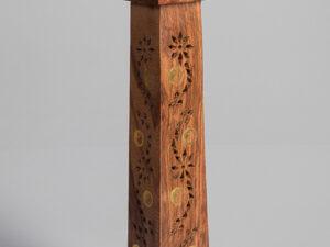 Turmhalter mit Yin-Yang