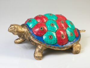 Schildkröte aus Messing